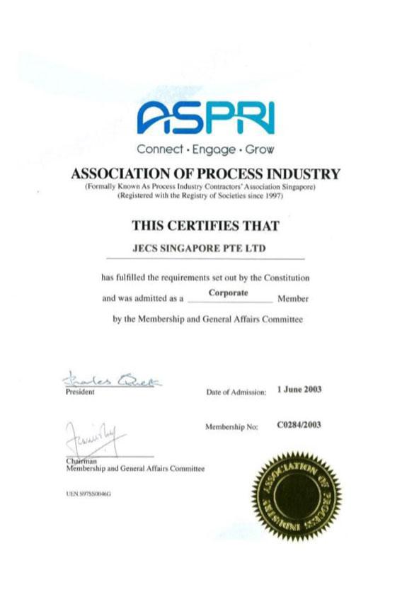 Aspri-Certificate