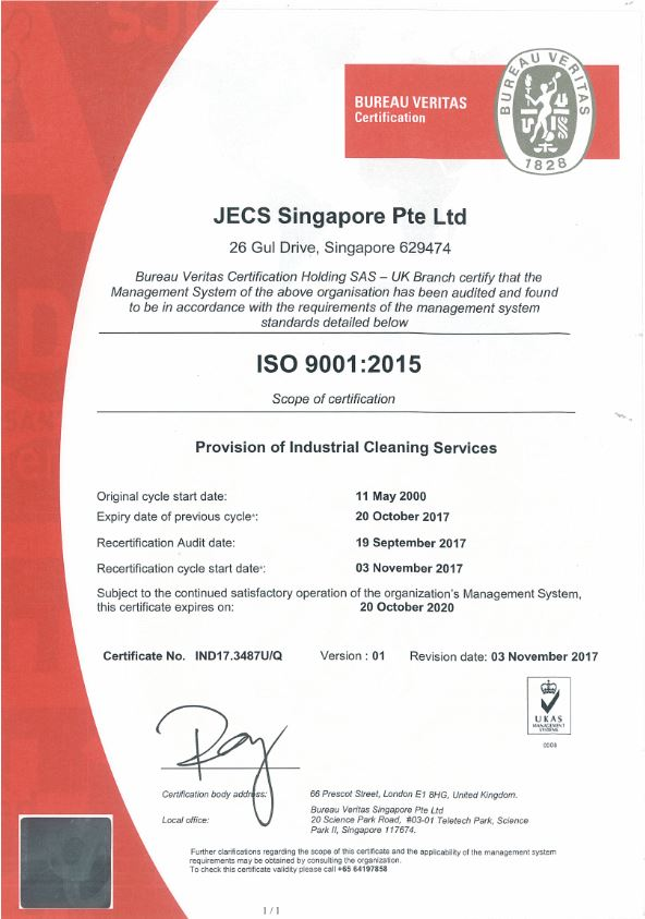 Company Profile - JECS